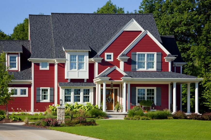 horizontal lap siding is the one of the most common styles of siding its versatile