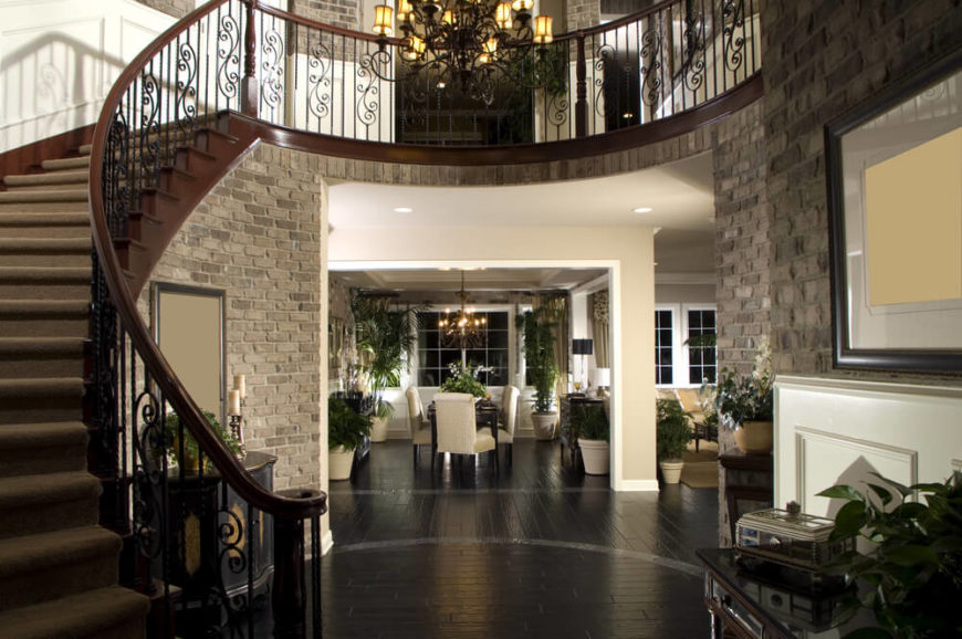 House Foyer Staircase : Rancher vs story house pros and cons plus take our poll