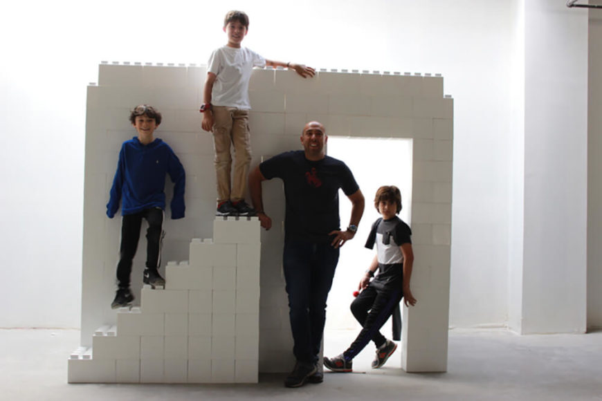 Building larger projects can be a perfect activity for the whole family, giving everyone something important to do.