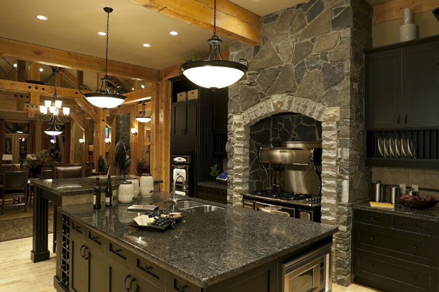 Custom Rustic Kitchens Mesmerizing 64 Deluxe Custom Kitchen Island Designs Beautiful Design Inspiration