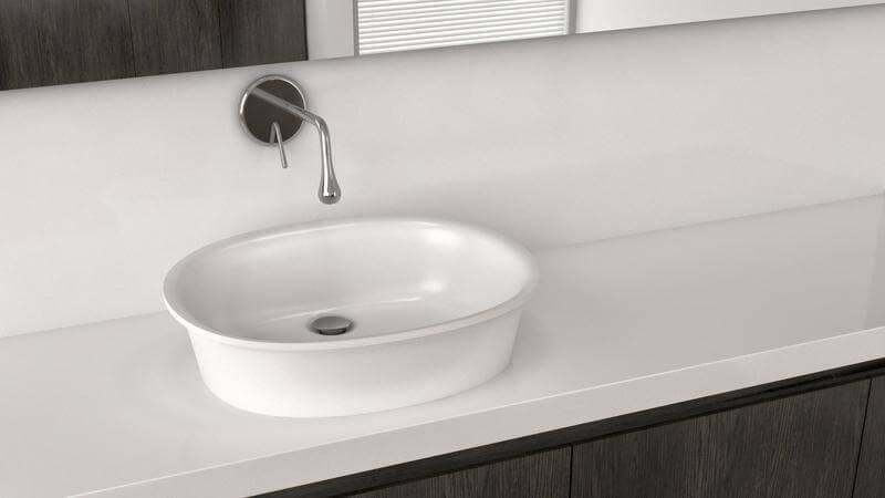 The Tulip Collection is modeled after an opening flower, with a thin, delicate flared rim and a simple, elegant design. The construction is durable, timeless, and works well in any design scheme. This sink is available in True High Gloss™ or matte finishes.