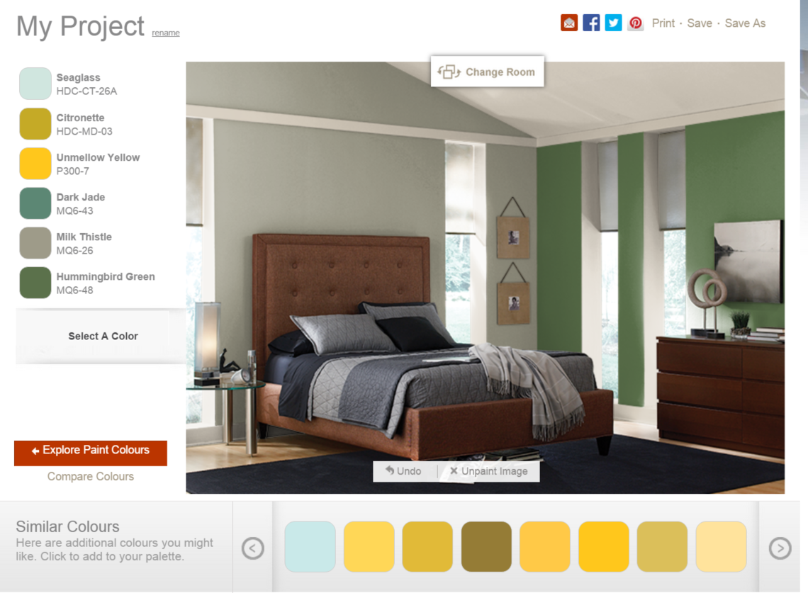 Behr Paint Colors Software For Individual Rooms