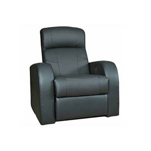 The key appeal of this beautiful chair is the sleek lines and classic framing that obscures its broader function as a recliner. Cup holders built into the arms add useful functionality, while the thick cushioning ensures comfort.