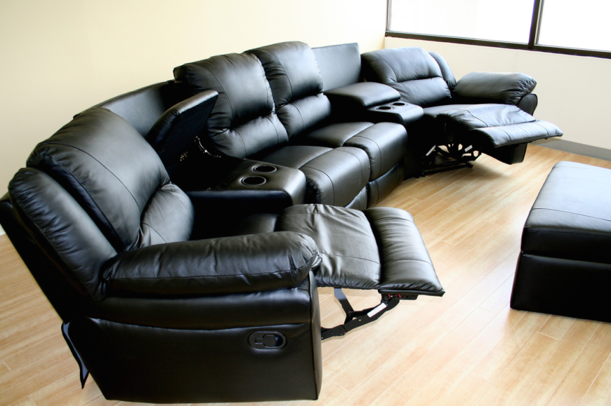 If youu0027re looking to seat the whole family on one solid piece of furniture & Top 21 Types of Home Theater Recliners and Chairs