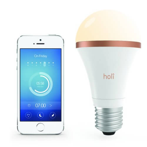 This specialized smart bulb is designed to wake you up naturally with a specifically tuned blue tint that reduces the level of melatonin in your body. It's got another mode to help you fall asleep faster. Basically, this product will not only light your room, but help you feel better rested in the long run.