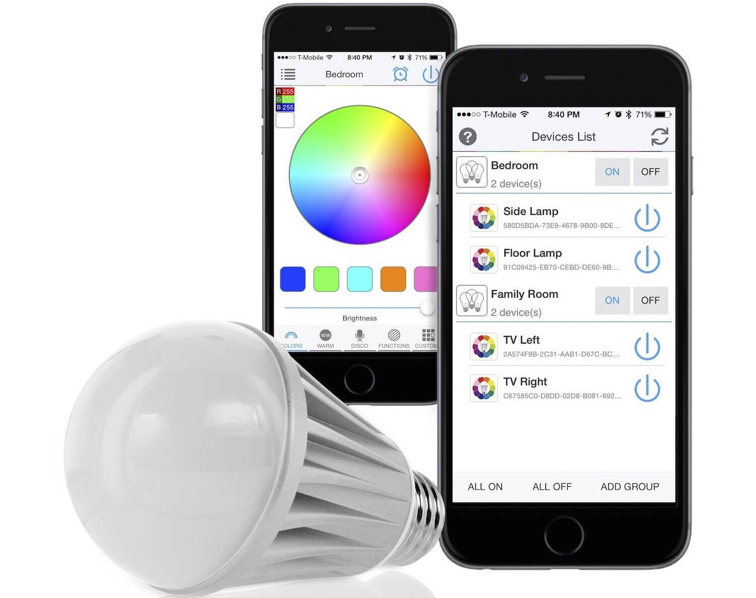 smart lighting for home