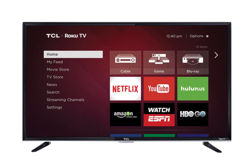 TCL has partnered with Roku to make a TV that features the best of both worlds, with a great screen paired with all that the Roku streaming box has to offer, built right in. The Roku functionality allows you to choose from over 2,000 streaming channels to find the movies, shows, sports, music, and more that you want, without the hassle of multiple devices.