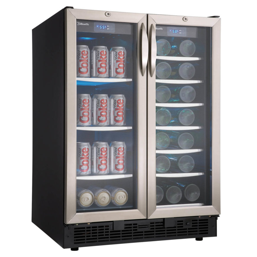 While a standard home refrigerator is fine and dandy for most purposes and people, a certain style of man cave kind of demands something flashier. We love this glass-door, metal framed beverage cooler. It's the perfect fit for a bar-focused man cave, a modern styled one, or even a gaming-centric man cave. Load it up with your favorite sodas or beers, and your friends will be impressed as they obtain beverages from a restaurant-style glass refrigerator.