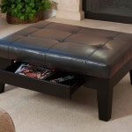20 Fantastic Ottomans for Man Caves (Put Your Feet Up)