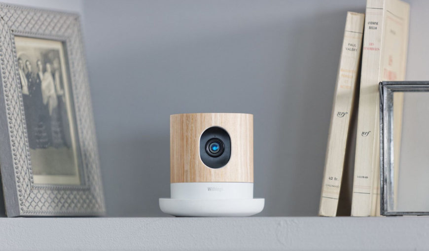 While we've seen several smart home cameras already, we haven't quite seen something like this model. Featuring an attractive natural wood finish, it's a welcome addition to any shelf or decorative space in the home. Even better, this camera goes beyond simple video recording, night vision, and streaming; it's got an air quality sensor and can alert you if there are ever too many volatile elements in the atmosphere.
