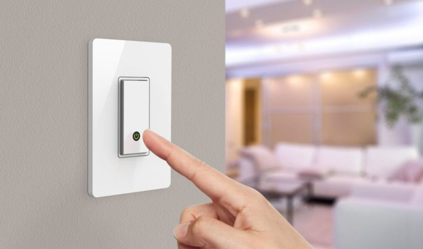 This handsome little smart light switch is wifi enabled, letting you control your home lighting from virtually anywhere on earth. Compatible with the Amazon Echo smart home hub device, it will become an integral part of your smart home ecosystem. Replace any old switch with the WeMo and you'll be able to create customized schedules. For example, set your porch light to go on at sunset or set the kitchen lights to turn on before you get up in the morning.