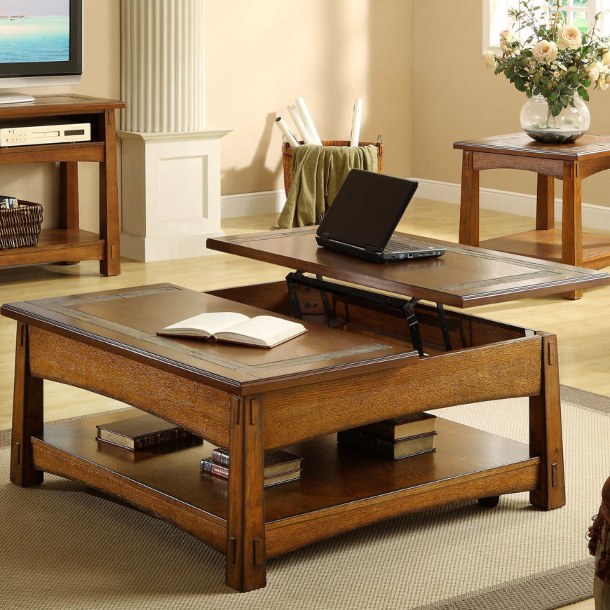 Craftsman Style Works Superbly When It Comes To Coffee Tables. Theyu0027re  Often The