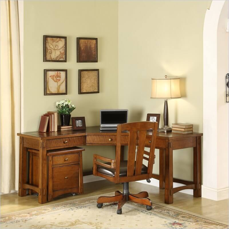 Unlike The Previous Two Craftsman Desks Weu0027ve Featured, This Model Is A  Little