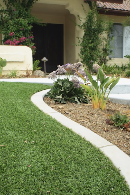 A closer look at astro turf reveals that it does look very much like grass, especially at higher price points.