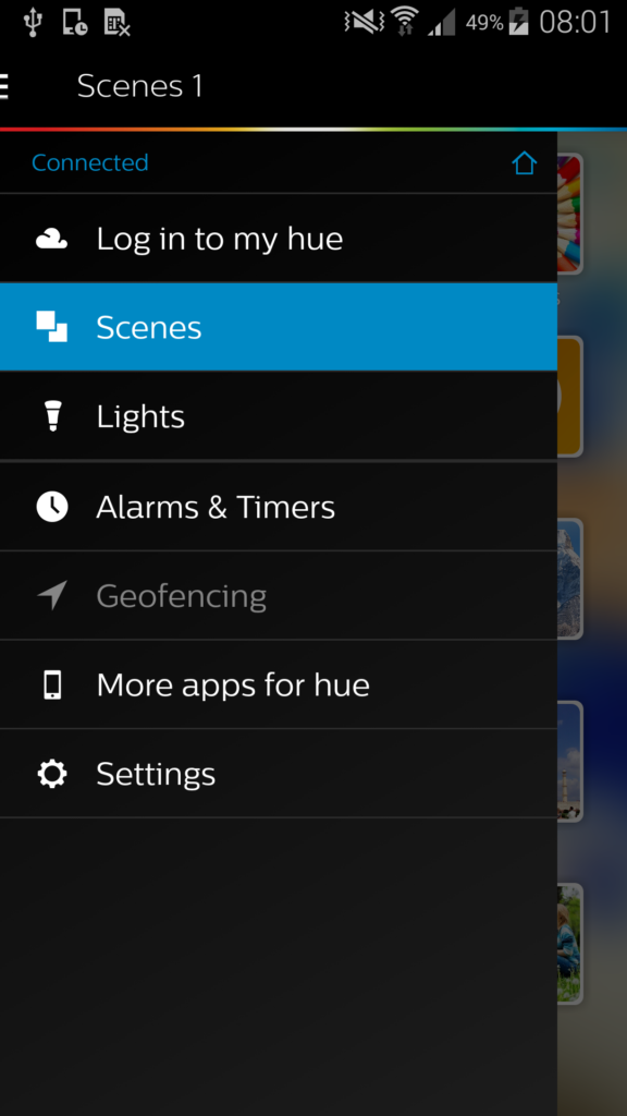 The HUE app works with Apple HomeKit technology, allowing you to use Siri to control the lighting in your home. The app is essential for creating custom scenes to control the home settings. You'll be able to automate the lights, making it appear that you're home while you are away - the lighting can also be controlled manually from anywhere, whether your bedroom or your job site.