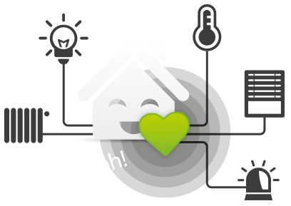 This smart home device companion app is designed to let you control a whole suite of the most important functions at home, including climate control, security, entertainment, shading, and even pool and irrigation systems. It ties together your isolated devices, letting them work in coordination without any modification.