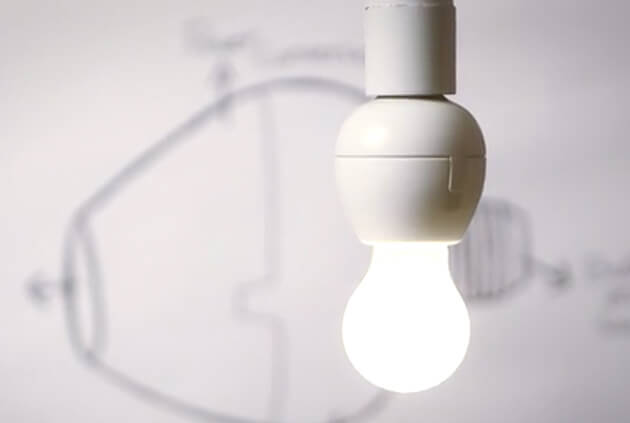 The Vocca is a compact plug-and-play gadget that connects to any standard light bulb socket, turning your standard lights into a voice activated bulb. You'll be able to turn lights on or off with only voice commands from a distance of up to 15 feet. This is perfect for times when your hands are full, or when you enter a dark room. No more fumbling for a wall switch! The bulb, of course, still activates regularly when using the wall switch. Working straight out of the box, there's no need for professional installation; it's as easy as changing a light bulb. Even better: you can activate lights from your smartphone.
