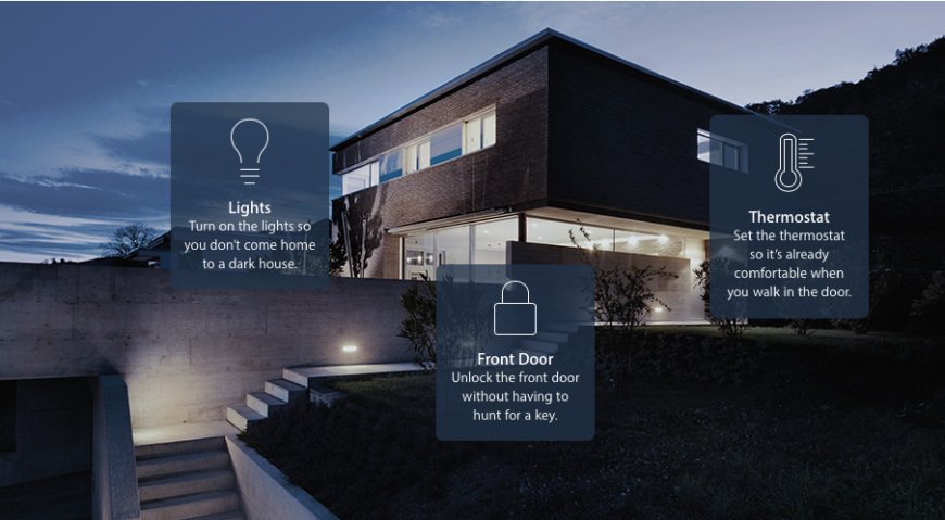 You can use your smartphone to set your devices into concerted motion, controlling them simultaneously and ensuring a unified home environment.