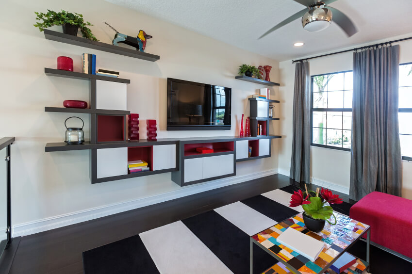 Unique Living Room Shelving Ideas Ideas