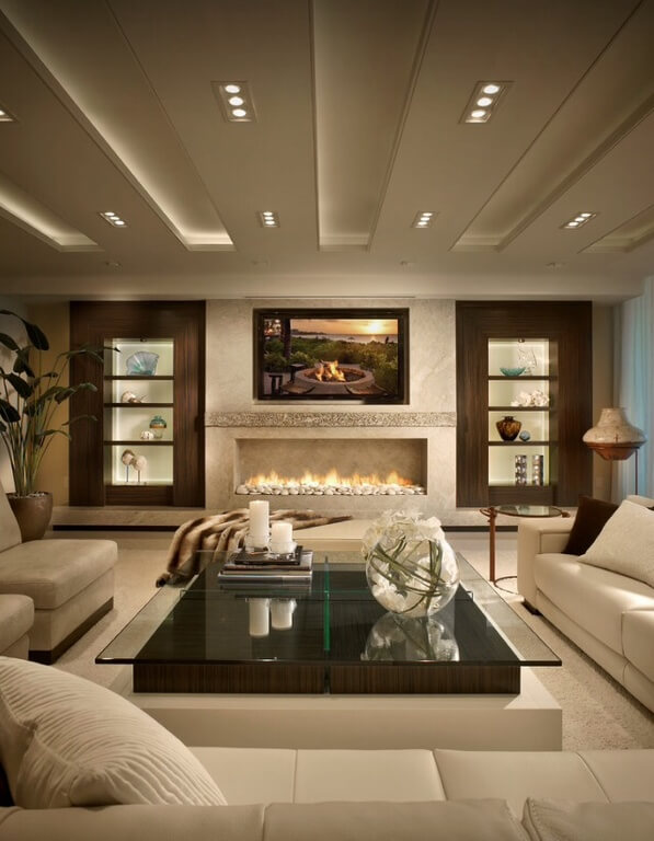 Awesome Living Room Shelving Ideas Interior