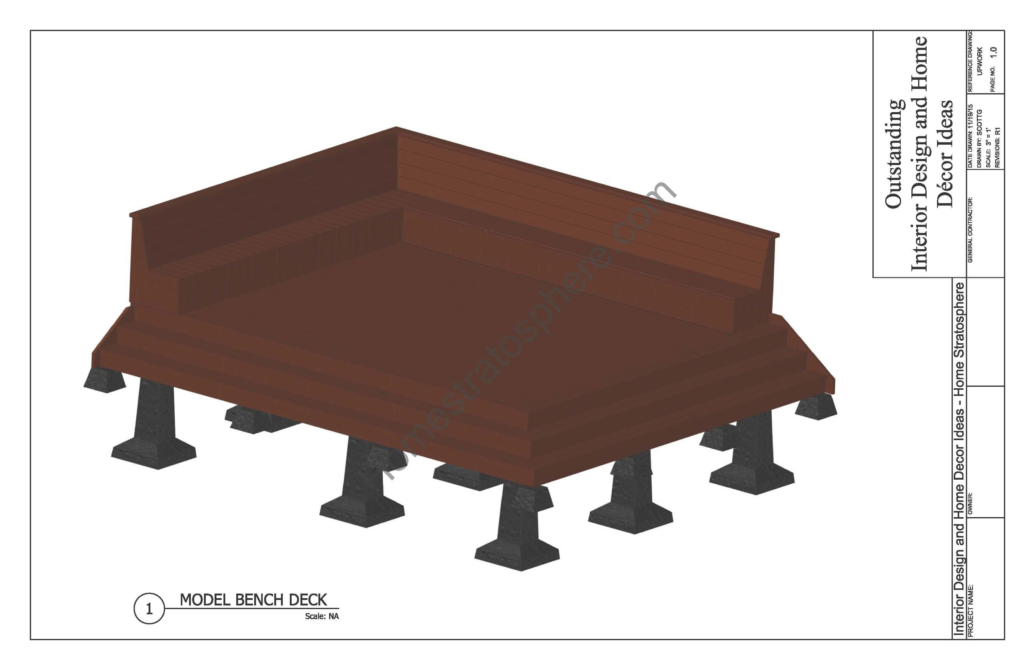 Deck Plans with Built-In Benches_Page_01
