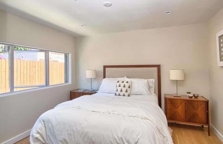 """Opening the window during the showing helps chase away any """"house-whiff"""" you may have accumulated and helps set a relaxing atmosphere in a bedroom."""