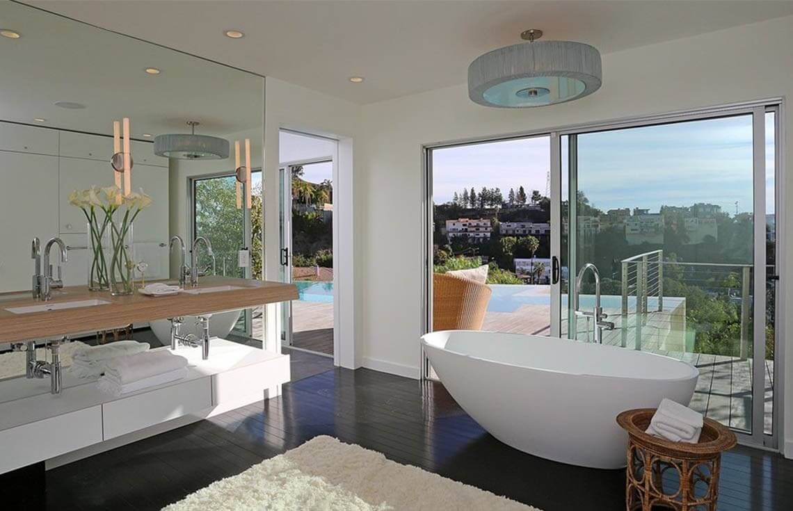 3 stunning bathroom staging ideas photos for Bathroom designs top view