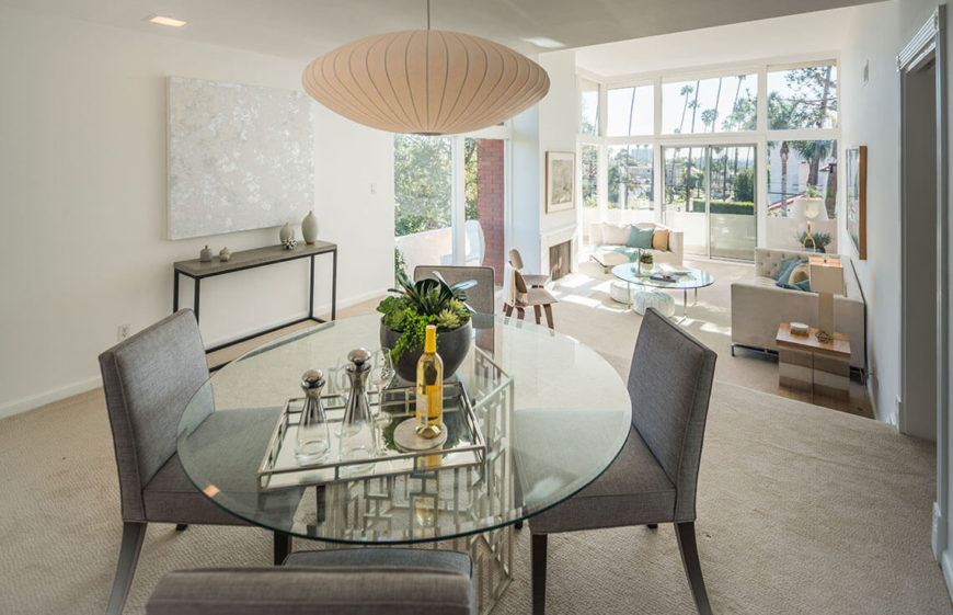 10 Superb Square Dining Table Ideas For A Contemporary: 10 Marvelous Dining Room Staging Ideas (Photos