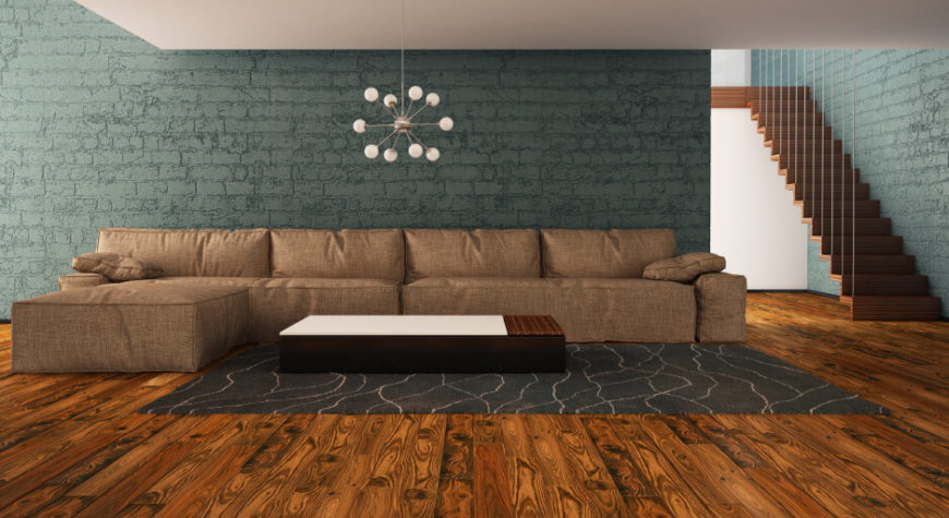 24 stunning living room wall ideas for Bricks painting design