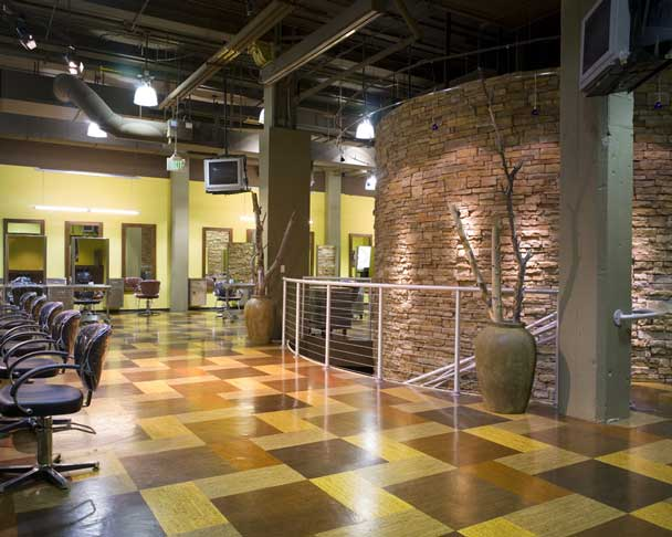 """Cork is basically the ultimate """"green"""" flooring material for a number of reasons. It's natural and extremely renewable, lightweight, and versatile. The durable material is healthy for occupants, safe and cushioned, and comfortable to the touch. Nicks and scuffs are easily disguised and often disappear naturally through use, as will dents from furniture. Cork flooring simply bounces back from most of life's hazards. Even better, it's resistant to mold and mildew, being an anti-microbial material. Basically, cork can be as versatile as you want while retaining an environmentally and human friendly aesthetic."""