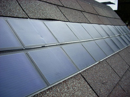 A third kind is becoming more ubiquitous on residential homes for its unique look. BIPV (building integrated photovoltaics) can look like standard roofing tiles, providing a handsome and frankly seamless look for your home. They are more attractive but can cost more than the standard mono type. They're a little less efficient as well, so we recommend them only for people who live in very sunny areas with little shade.