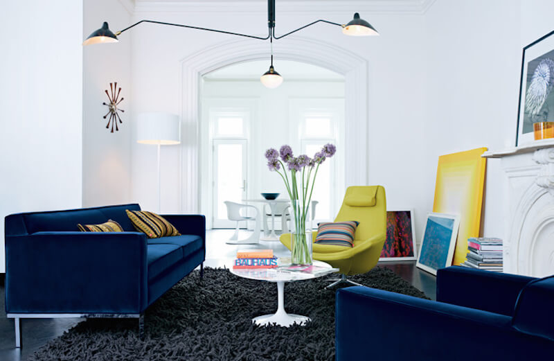 Floor lamps can also work well to light up those dark corners that may be out