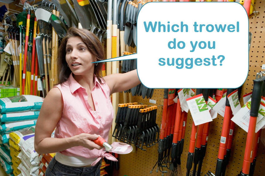 Which trowel do you suggest