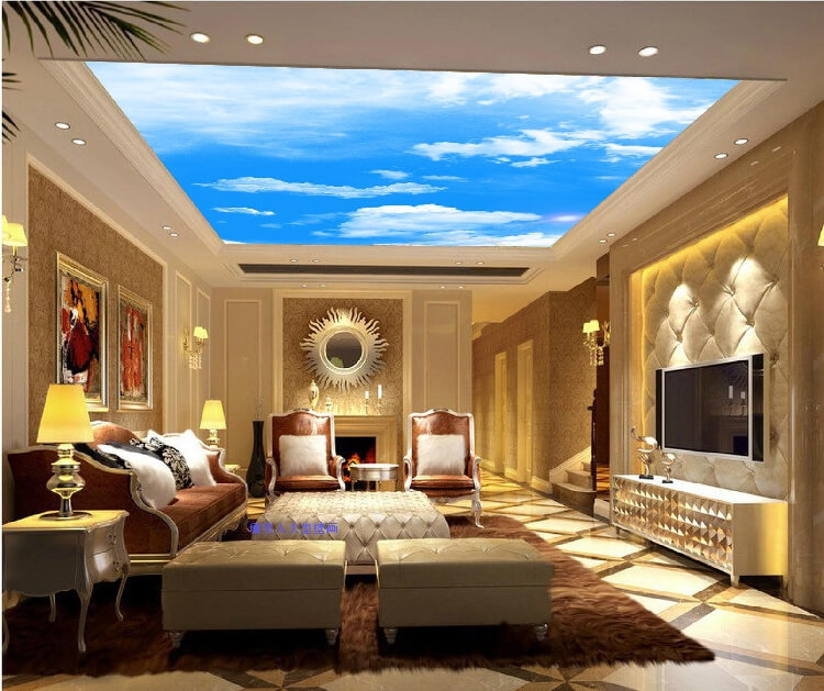 60 fantastic living room ceiling ideas for Ceiling lighting ideas for living room