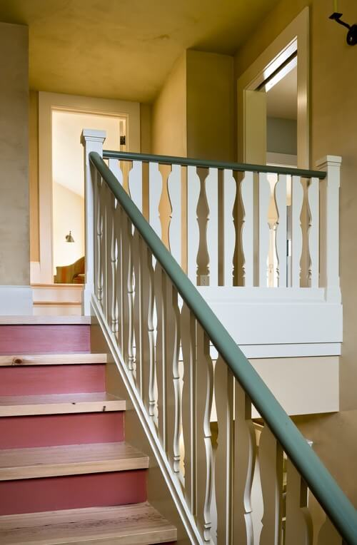 These delightful sawn balusters are designed to look like the two-dimensional silhouettes of traditional turned spindles. Unique and definitely memorable.