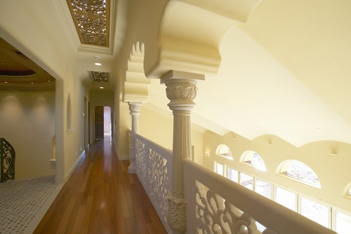 The cast stone railings here are an incredible example of exactly how ornate stone can be. Simply breathtaking.