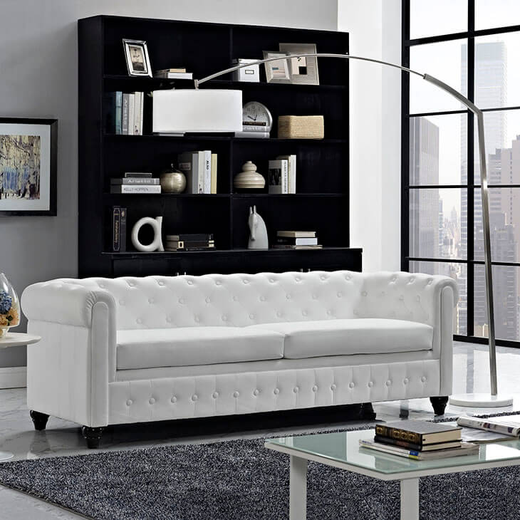 While They May Require A Bit Of Attention, Stark White Furniture Can Really  Make An