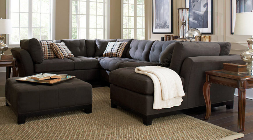 Amazing Here Is An Interesting Sectional Sofa That Provides Seating On Four Sides.  This Kind Of