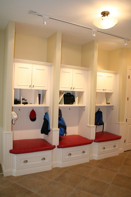 Free Mudroom Locker Plan With Storage Bench Pdf Blueprint