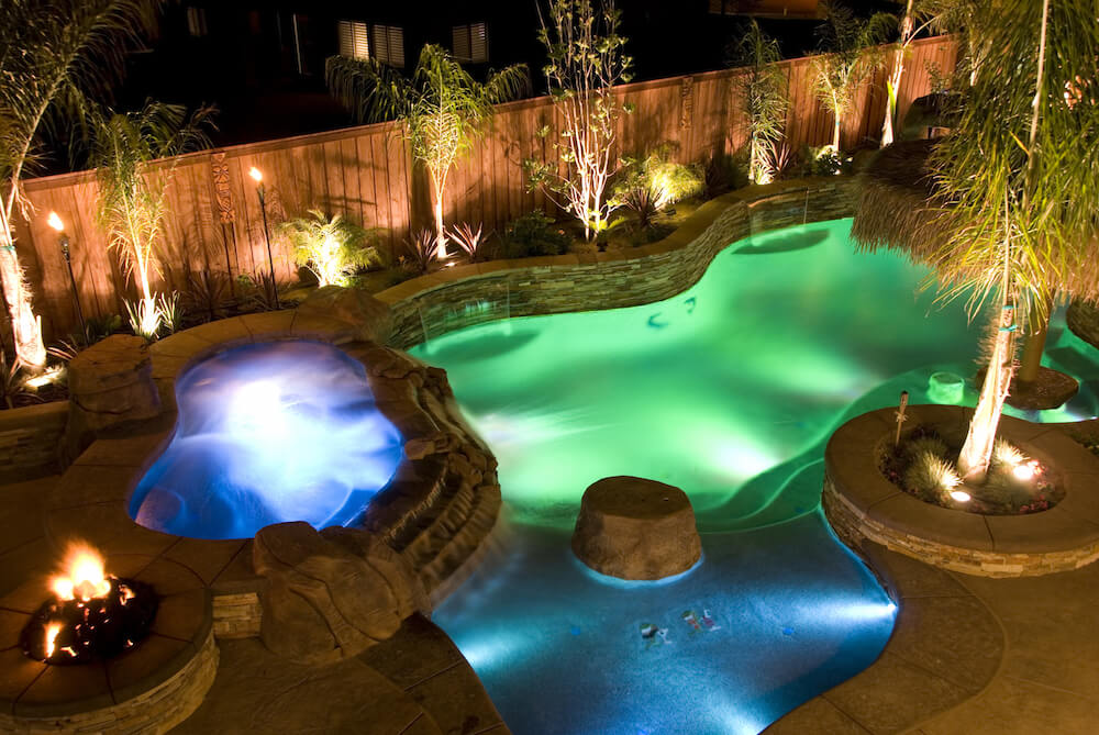75 brilliant backyard landscape lighting ideas 2018