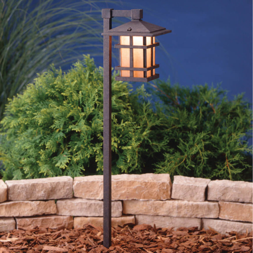 75 brilliant backyard landscape lighting ideas 2018 lanterns are a great way to provide light to a garden this lantern has a workwithnaturefo