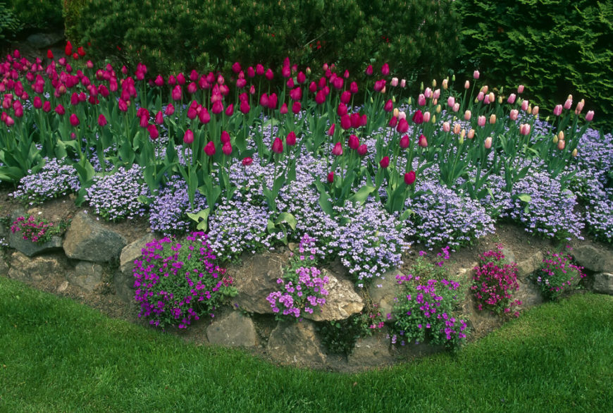 Even Though Perennials Can Lean Toward A Splendidly Wild And Untamed Look,  With Some Planning