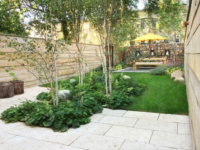 One way to spice up the area around the base of a tree is with a nice plumage of plants. It gives your tree plantings depth and a visually interesting element.