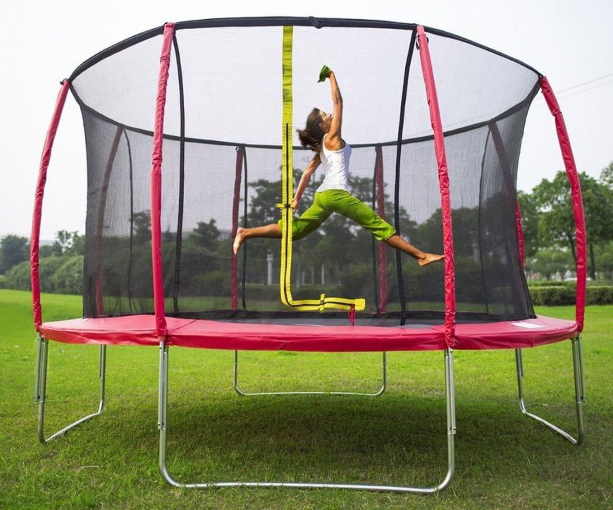 Trampolines can be used by a variety of aspiring athletes. The trampoline builds coordination, balance, and many other athletic skills that translate well into sports. It also just feels awesome to fly for a moment.
