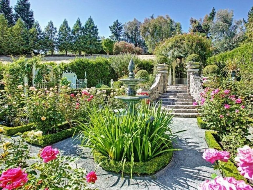 Roses make for great large gardens. Roses are classic and beautiful. Rose enthusiasts are passionate and there is so much to learn about these flowers. If you specialize in only roses you will have plenty to learn and they can bring you years of happiness.