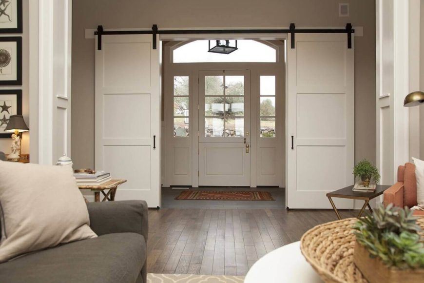 48 Sliding Barn Door Designs And Ideas For The Home Fascinating Barn Doors For Homes Interior
