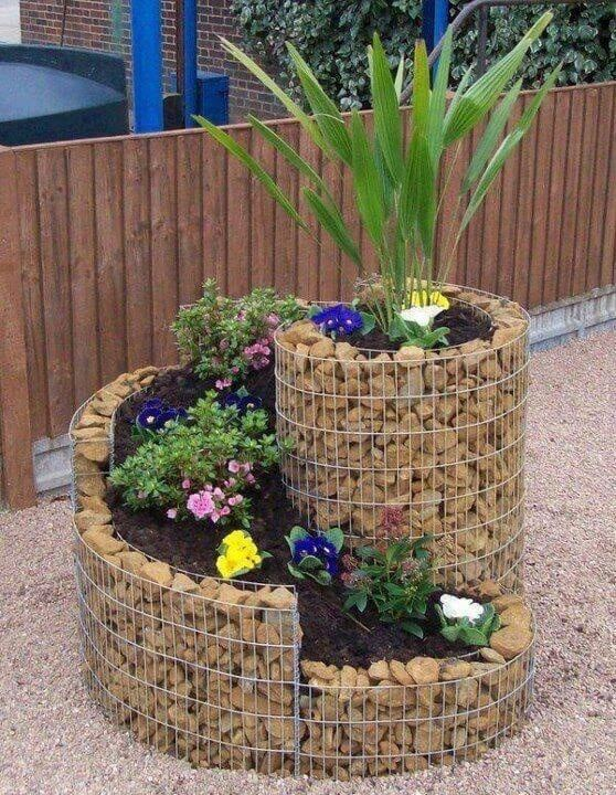 With small gardens you may choose to use small planters. These planters can be creative or created with different design twists. The best part of most planters is that they can be moved if need be.