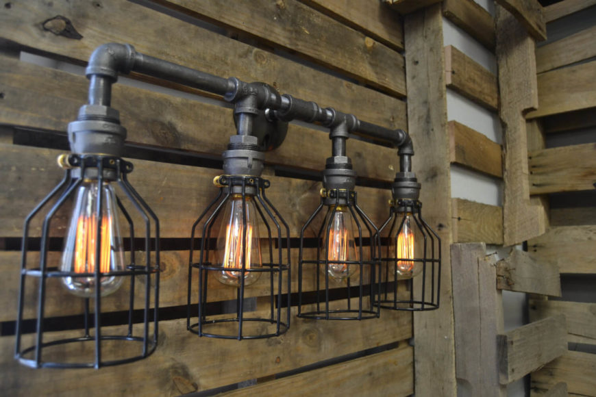 industrial bathroom lighting 35 industrial lighting ideas for your home 13228