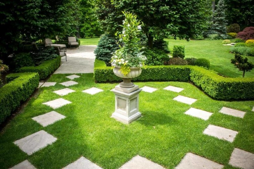 40 Remarkable Backyard Grass Ideas on Turf Backyard Ideas id=76245