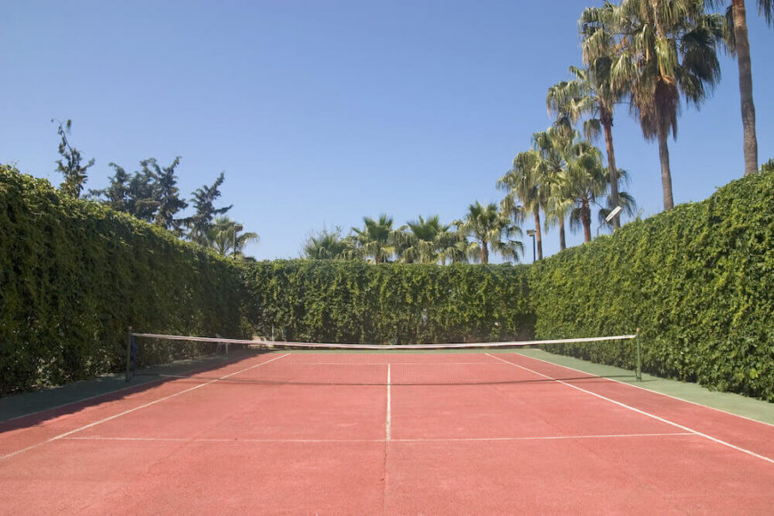 34 Spectacular Backyard Sports Court Ideas - 34 Backyard Courts For Different Sports (Tennis, Basketball